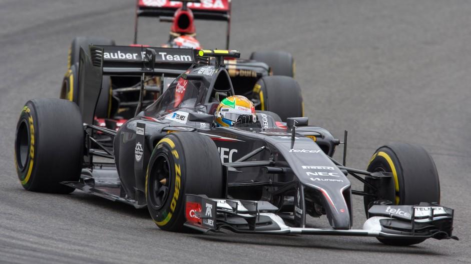 Esteban Gutierrez, Sauber, Hockenheimring, 2014