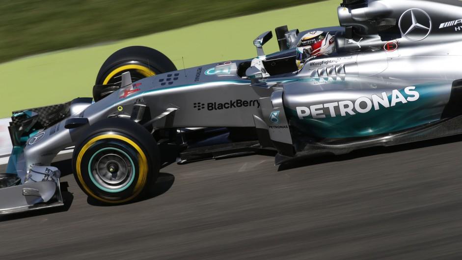 Lewis Hamilton, Mercedes, Hockenheimring, 2014