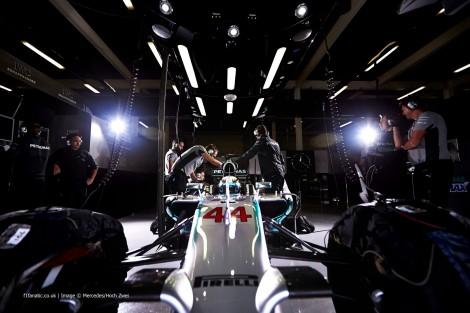 Lewis Hamilton, McLaren, Silverstone test, 2014