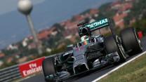 Lewis Hamilton, Mercedes, Hungaroring, 2014