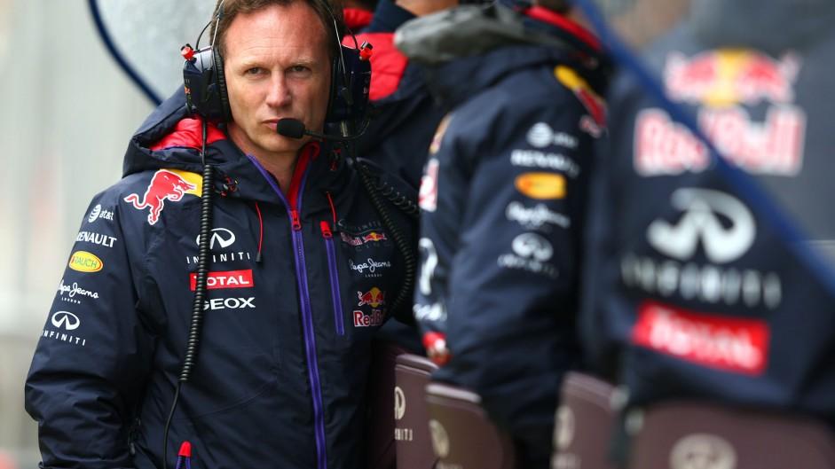 Christian Horner, Red Bull, Silverstone, 2014