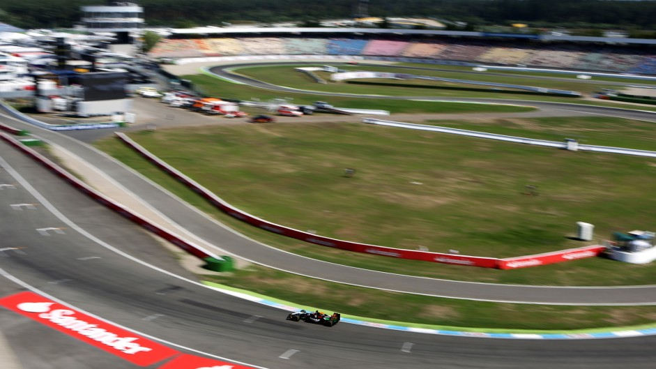 Nico Hulkenberg, Force India, Hockenheimring, 2014