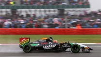 Nico Hulkenberg, Force India, Silverstone, 2014