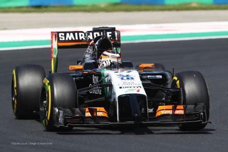 Nico Hulkenberg, Force India, Hungaroring, 2014