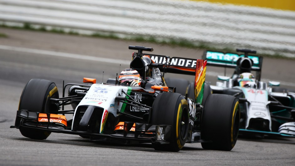 "Hulkenberg enjoying ""my best year in F1"""