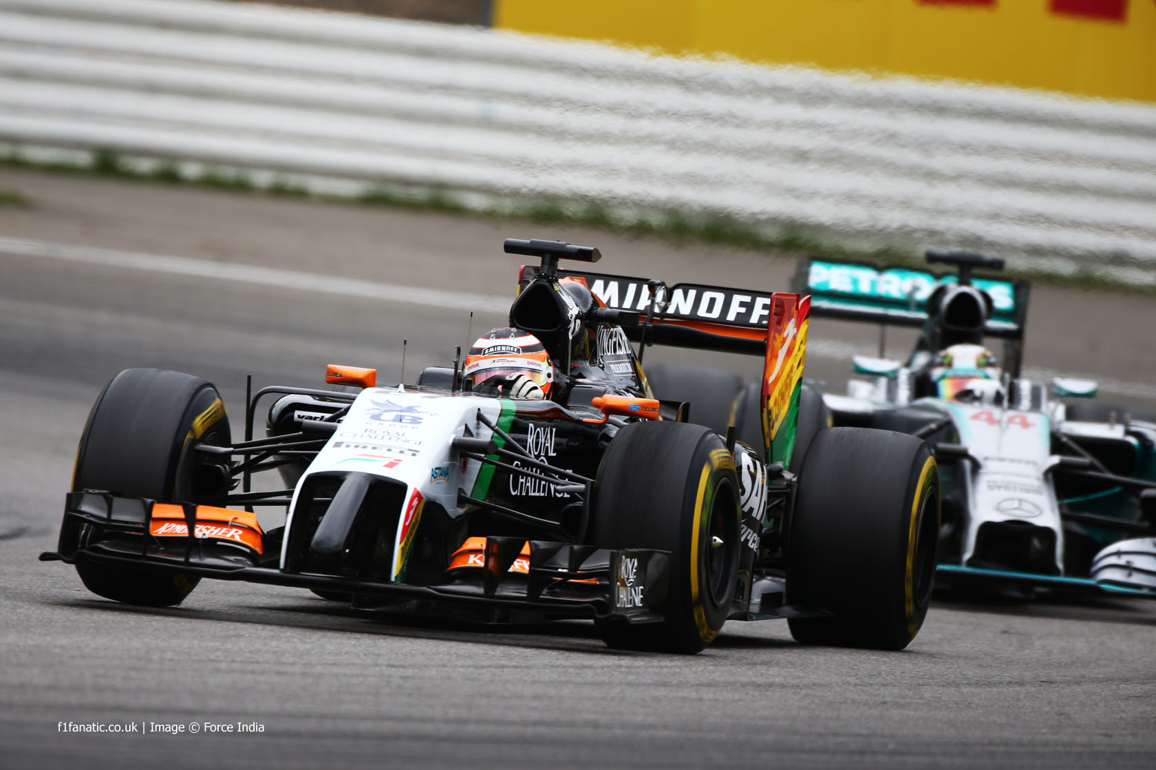 Nico Hulkenberg, Force India, Hockenheimring, 2014