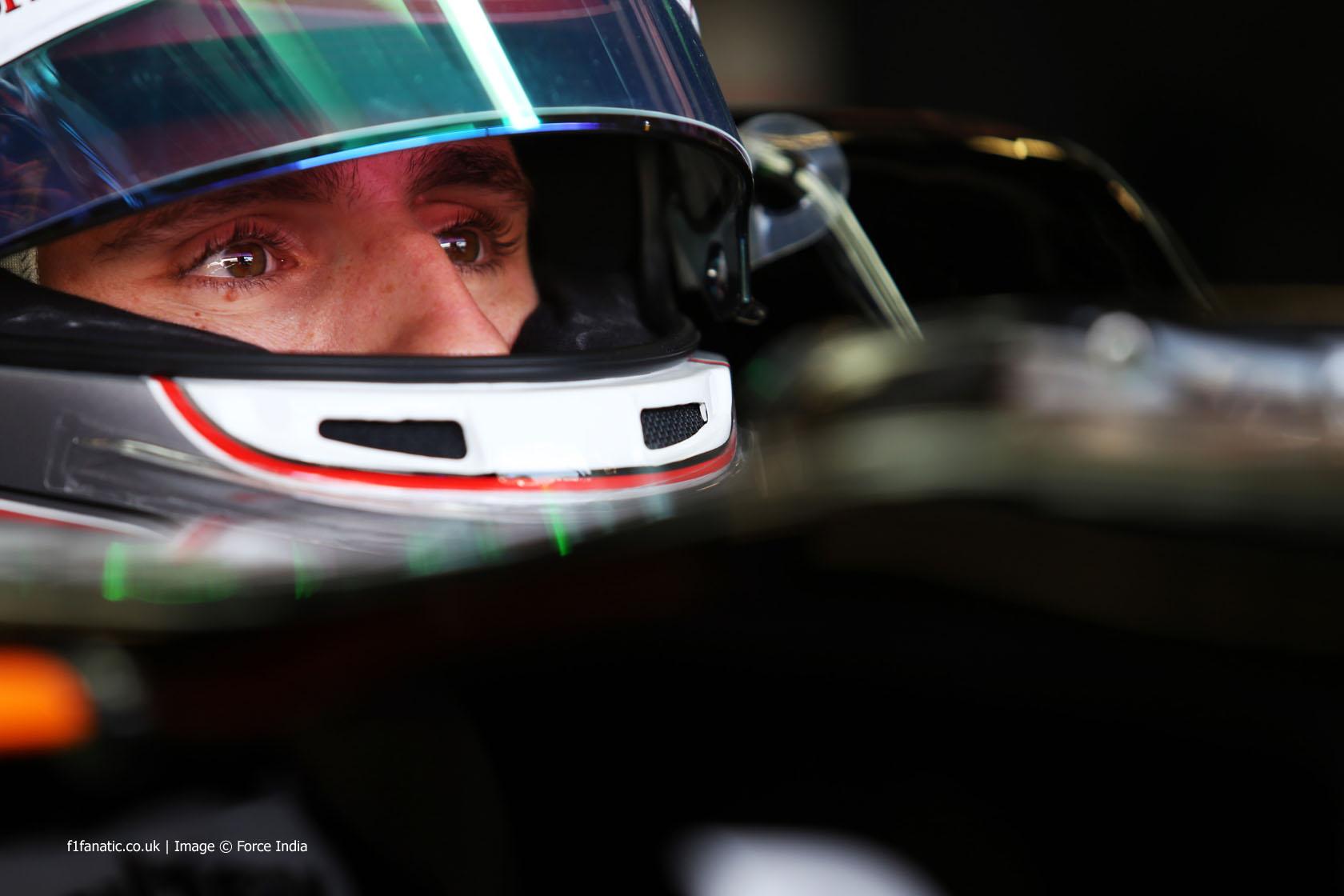 Daniel Juncadella, Force India, Silverstone, 2014