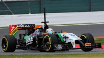 Daniel Juncadella, Force India, Silverstone test, 2014