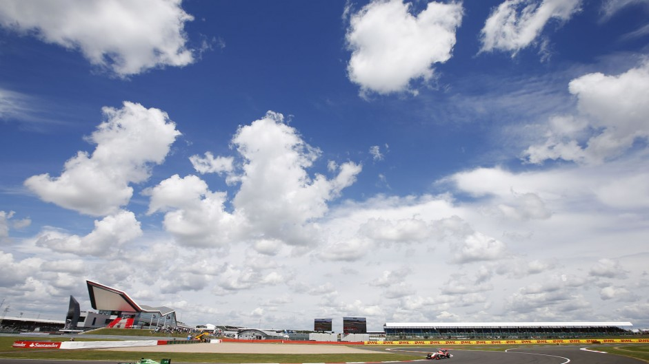 Warm British GP expected after record heat