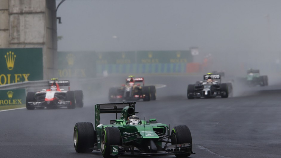 Kamui Kobayashi, Caterham, Hungaroring, 2014