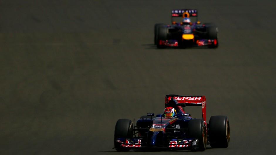 Daniil Kvyat, Toro Rosso, Silverstone test, 2014