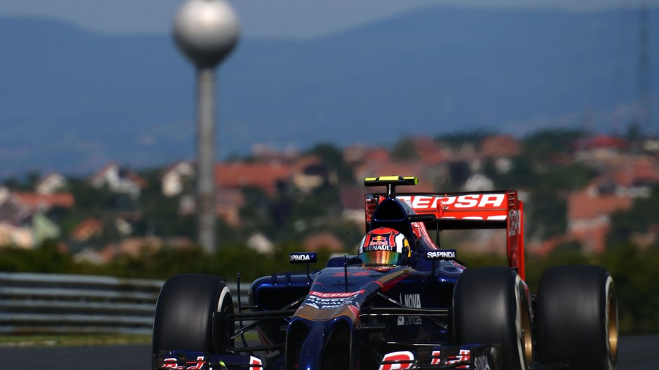 Daniil Kvyat, Toro Rosso, Hungaroring, 2014