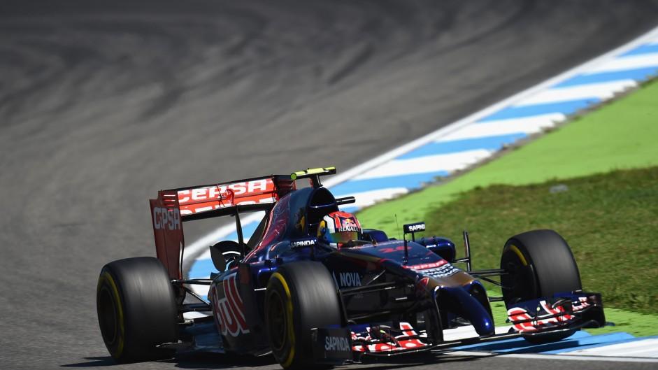 Daniil Kvyat, Toro Rosso, Hockenheimring, 2014