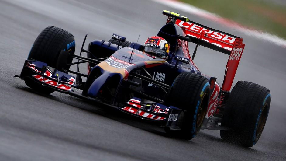 Daniil Kvyat, Toro Rosso, Silverstone, 2014