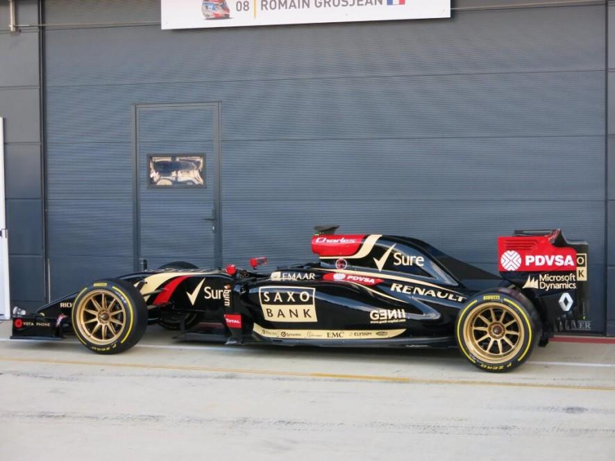 Lotus E22, Silverstone, 2014