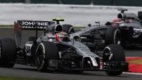 Kevin Magnussen, McLaren, Silverstone, 2014