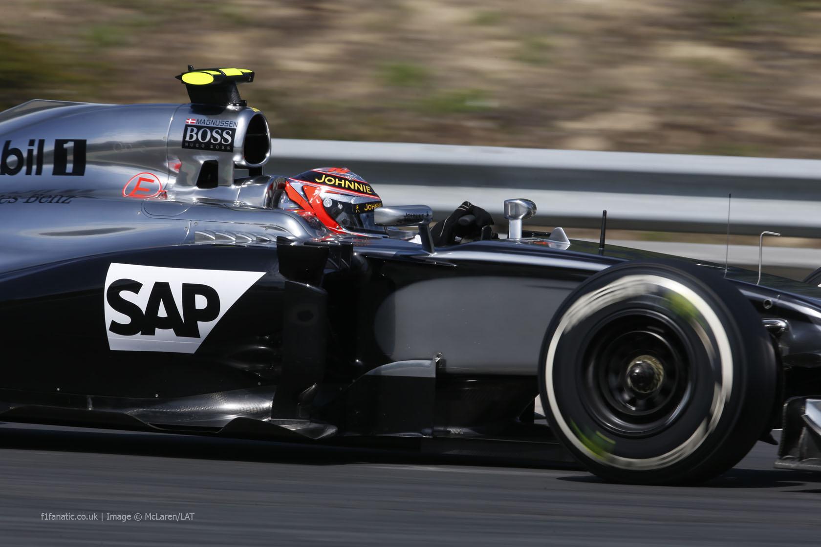 Kevin Magnussen, McLaren, Hungaroring, 2014