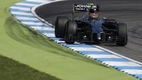Kevin Magnussen, McLaren, Hockenheimring, 2014