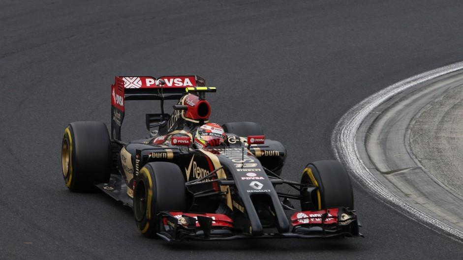 Pastor Maldonado, Lotus, Hungaroring, 2014