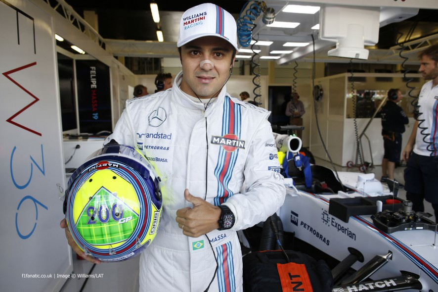 Felipe Massa, Williams, Silverstone, 2014