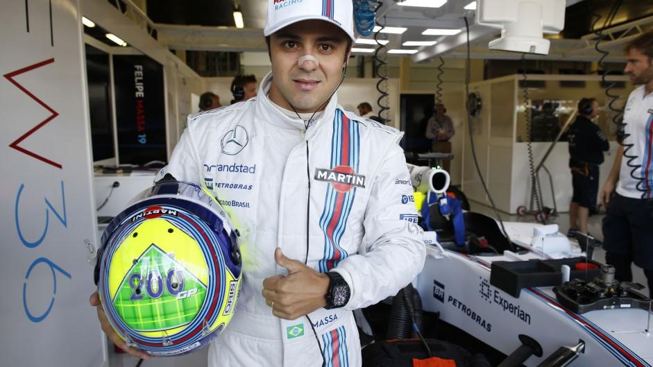 Felipe Massa, Williams, Silverstone, 2014