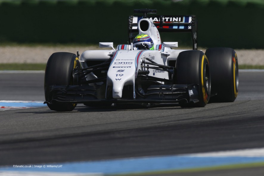 Felipe Massa, Williams, Hockenheimring, 2014