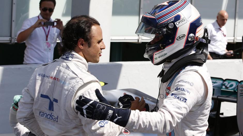 Felipe Massa, Valtteri Bottas, Williams, Hockenheimring, 2014