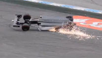 New video of Massa's first-lap crash