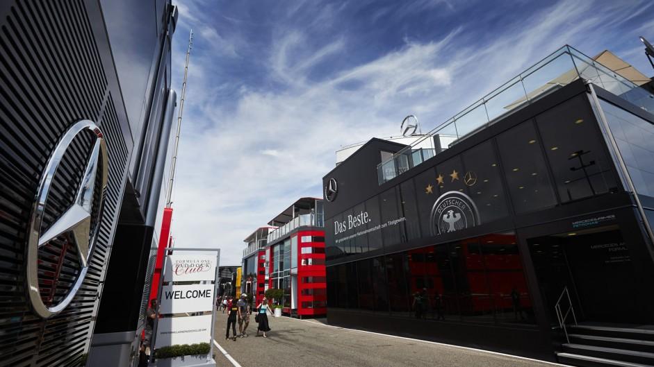 Mercedes, Hockenheimring, 2014
