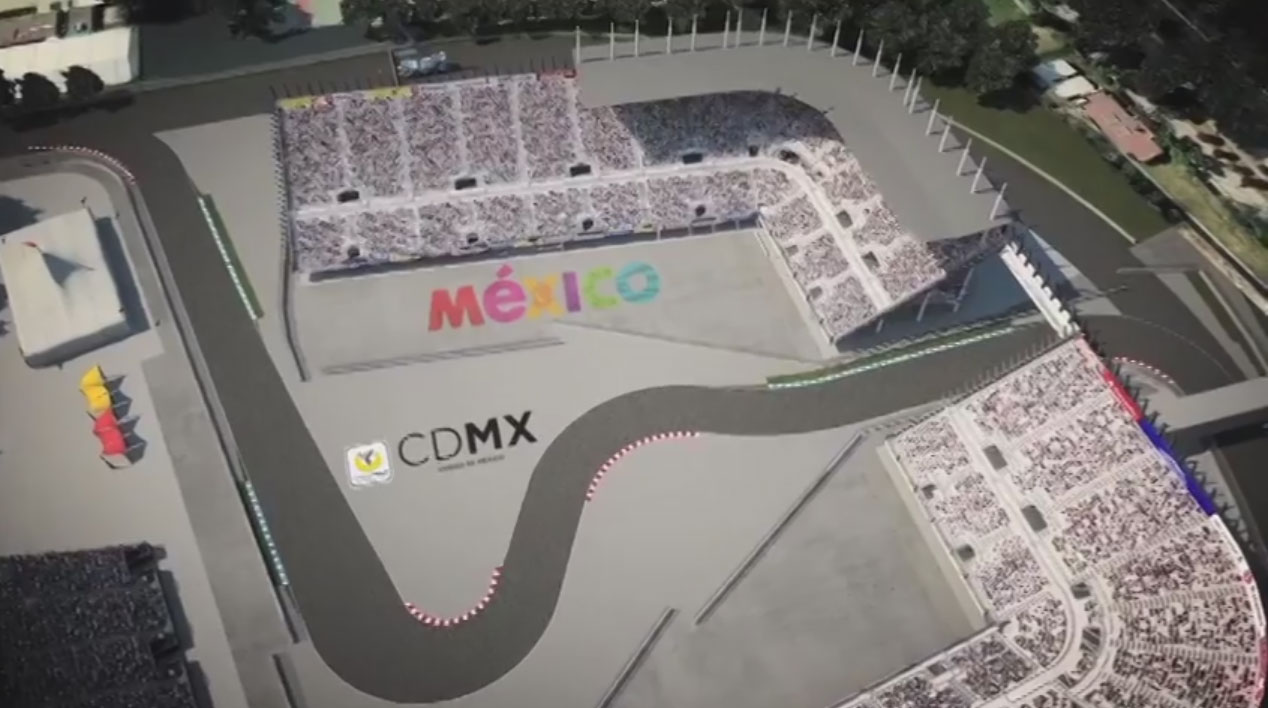 Autodromo hermanos rodriguez mexico city planned changes for Puerta 2 autodromo hermanos rodriguez