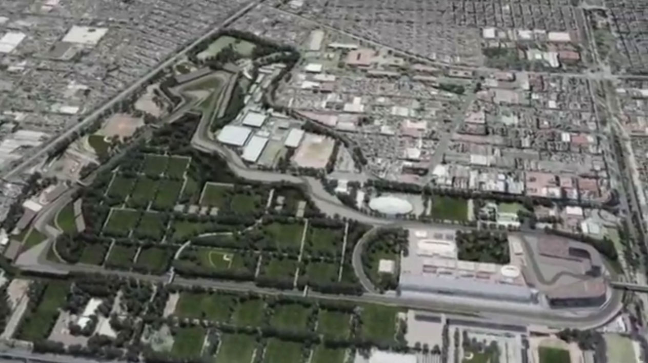 Autodromo Hermanos Rodriguez, Mexico City, planned changes