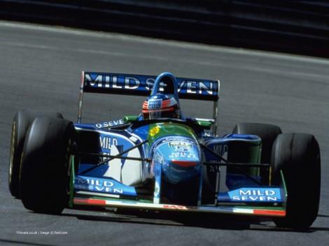 Michael Schumacher, Benetton, Hockenheimring, 1994