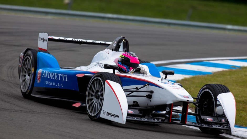 Franck Montagny, Andretti, Donington Park, 2014