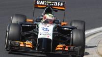 Sergio Perez, Force India, Hungaroring, 2014