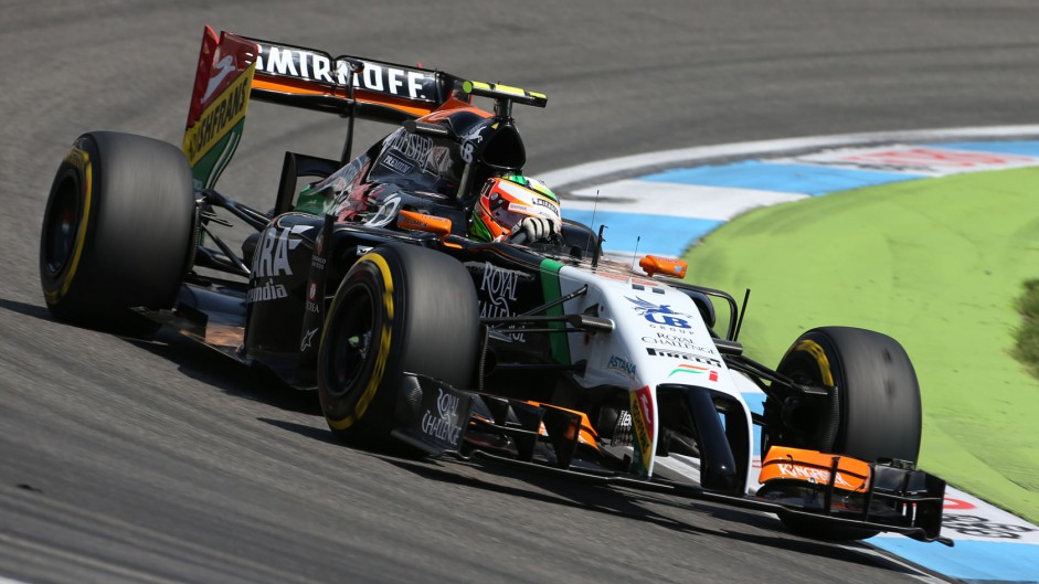 Sergio Perez, Force India, Hockenheimring, 2014