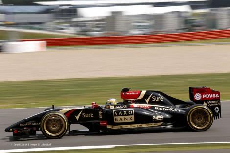 Charles Pic, Lotus, Silverstone test, 2014