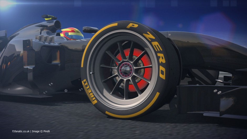 Pirelli reveal 18-inch tyre design ahead of test