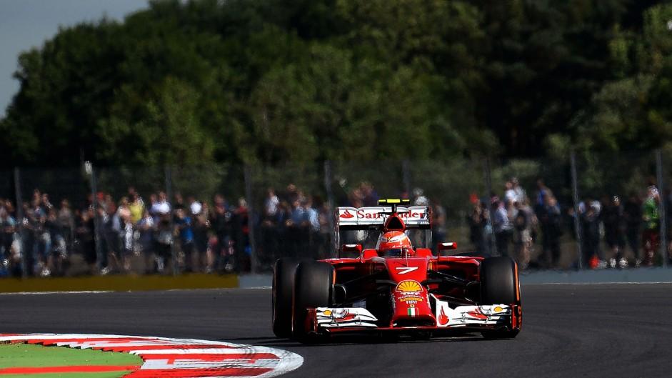 2014 British Grand Prix fans' video gallery