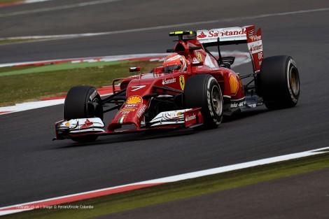 Kimi Raikkonen, Ferrari, Silverstone, 2014