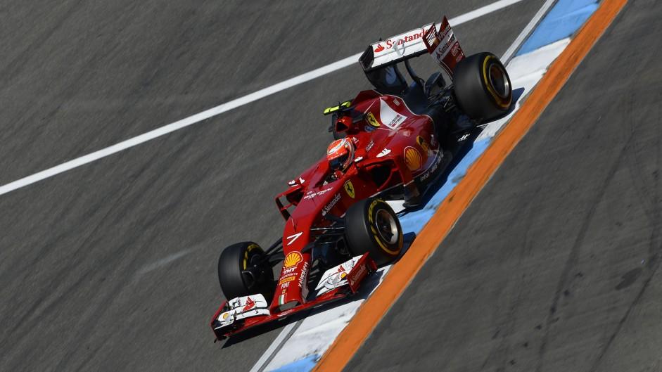Kimi Raikkonen, Ferrari, Hockenheimring, 2014