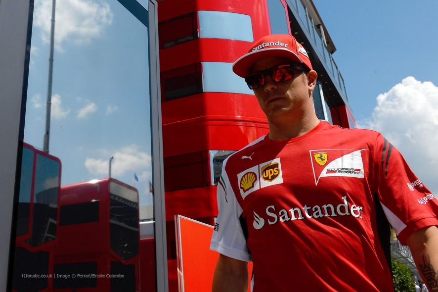 Kimi Raikkonen, Ferrari, Hungaroring, 2014