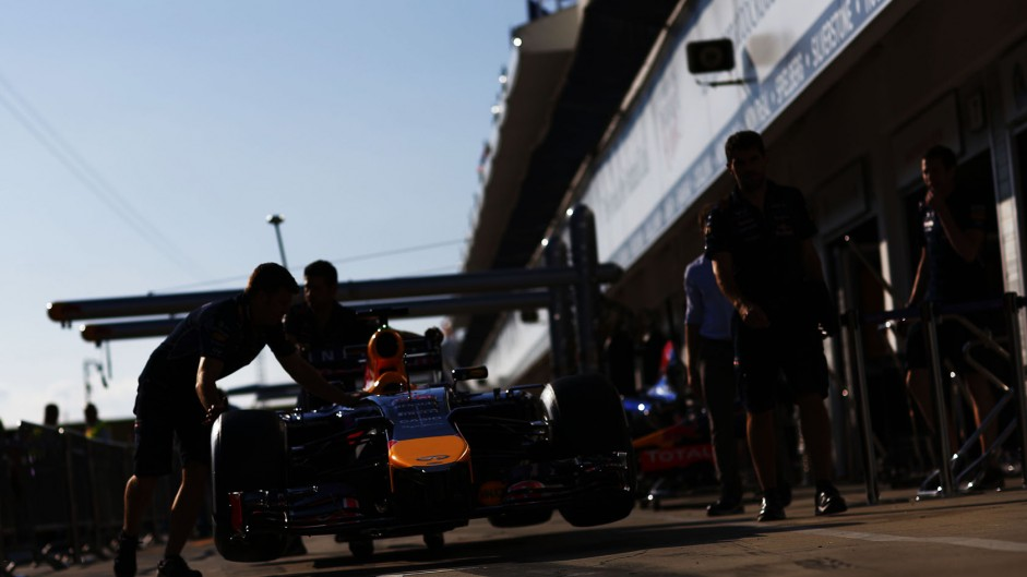 Red Bull, Hungaroring, 2014