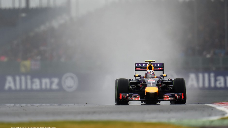 Wet qualifying possible again at Silverstone