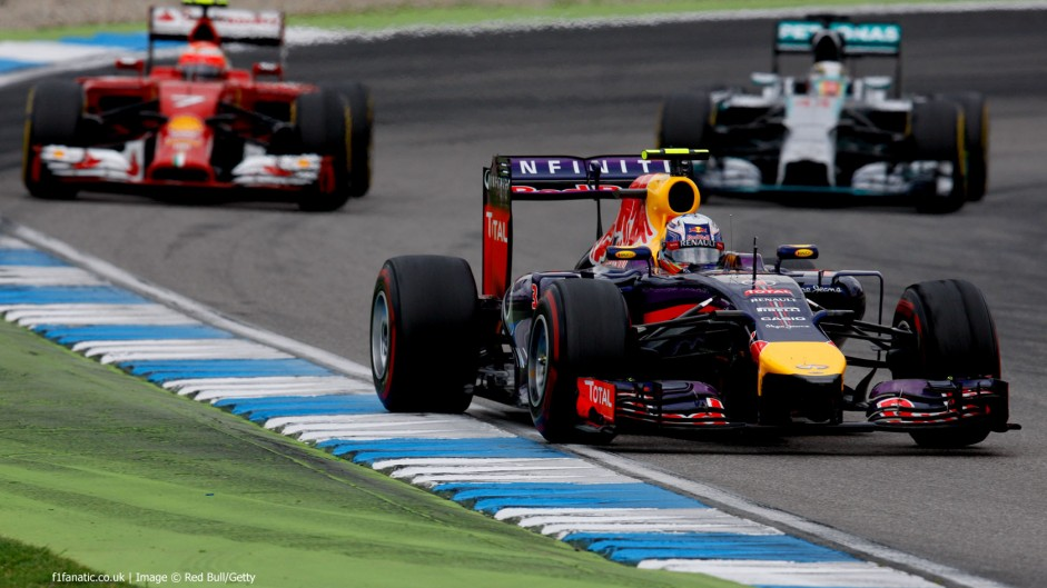 2014 German Grand Prix lap charts