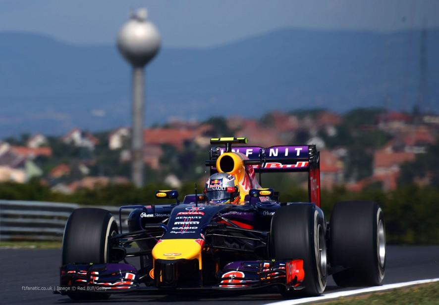 Daniel Ricciardo, Red Bull, Hungaroring, 2014