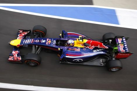 Daniel Ricciardo, Red Bull, Silverstone, 2014