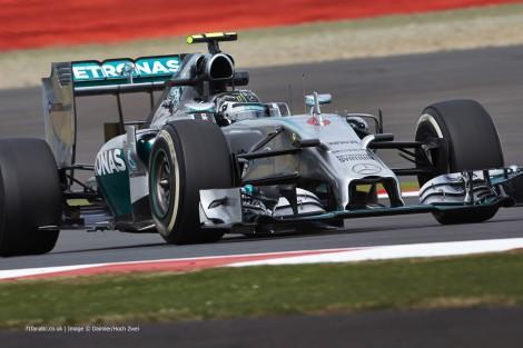 Nico Rosberg, Mercedes, Silverstone, 2014