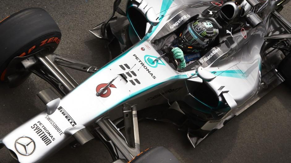 Mercedes confirm Rosberg contract extension