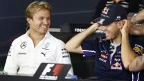 Nico Rosberg, Sebastian Vettel, Hockenheimring, 2014
