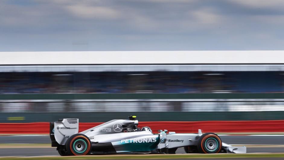 2014 British Grand Prix grid